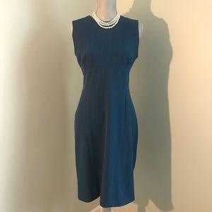 MM Lafleur Chambray Blue Dress